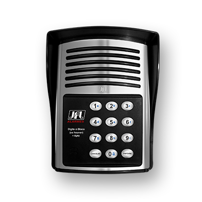 Detalhes do produto Porteiro eletrônico - JFL Master 12 Teclas