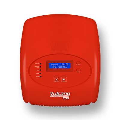 Detalhes do produto Central de Alarme - JFL Vulcano-200