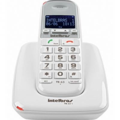 Detalhes do produto Telefone sem fio digital - Intelbras TS 63 V