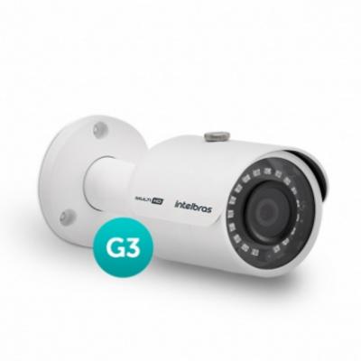 Detalhes do produto Câmera Multi HD com infravermelho - Intelbras VHD 3230 B G3