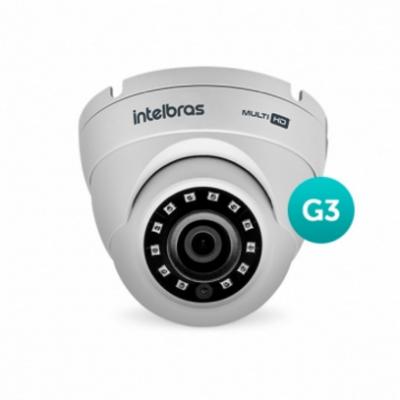 Detalhes do produto Câmera Multi HD com infravermelho - Intelbras VHD 3220 D G3