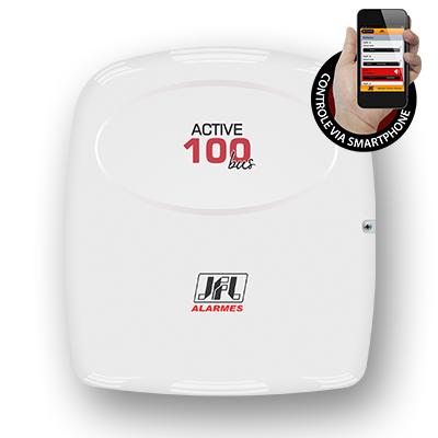Detalhes do produto Central de alarme monitorável - JFL Active-100 BUS (modular)