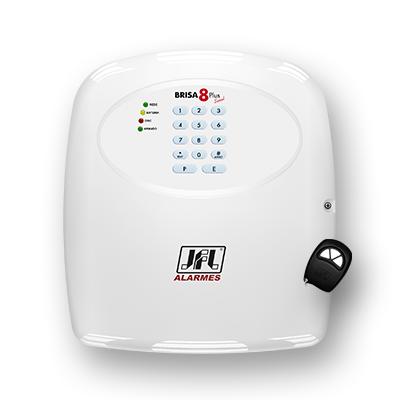 Detalhes do produto Centrais de alarme convencional - JFL Brisa-8 Plus Sinal