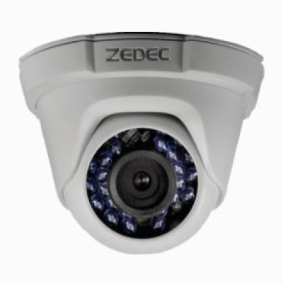 Detalhes do produto CÂMERA HD DOME 20MTS IR - ZEDEC