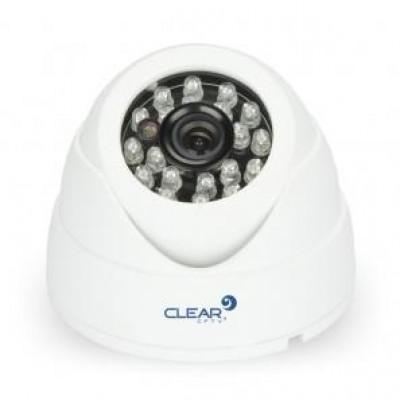 Detalhes do produto CÂMERA DOME CLEAR 25 METROS 1MP (1280X720P) IR 24 LEDS