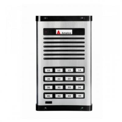 Detalhes do produto Porteiro Eletrônico Amelco 16 Pontos Unidade Extern AM-PPR16
