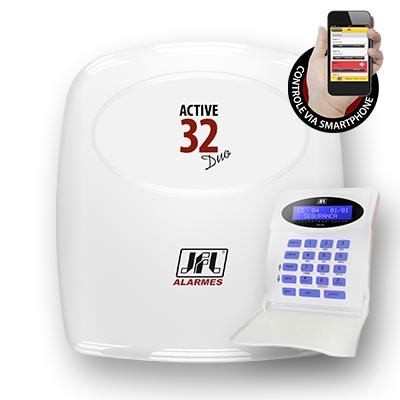 Detalhes do produto Central de alarme monitorável - Active-32 DUO