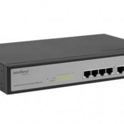 Detalhes do produto SF 802 AF Switch 8 portas PoE Fast Ethernet - Intelbras