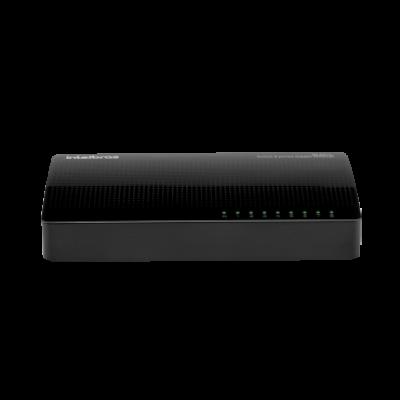 Detalhes do produto SG 800 Q+ Switch 8 portas Gigabit Ethernet - Intelbras