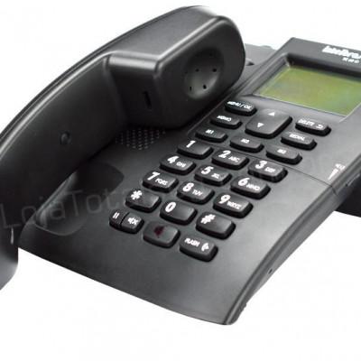 Detalhes do produto Telefone com fio TC 60 ID Preto - Intelbras