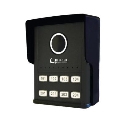 Detalhes do produto Porteiro Coletivo Smart 2, 4, 8 Pontos - Lider
