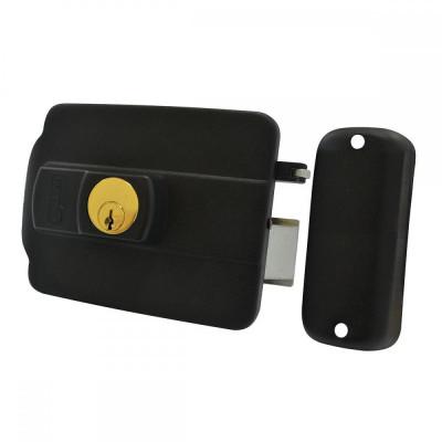 Detalhes do produto Fechadura Elétrica Com Chave simples com Abertura para Fora - LIder