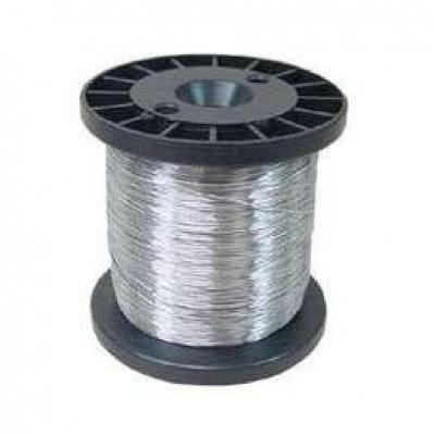 Detalhes do produto Carretel Arame Aço Inox Cerca Eletrica Fio 0,45 Bobina