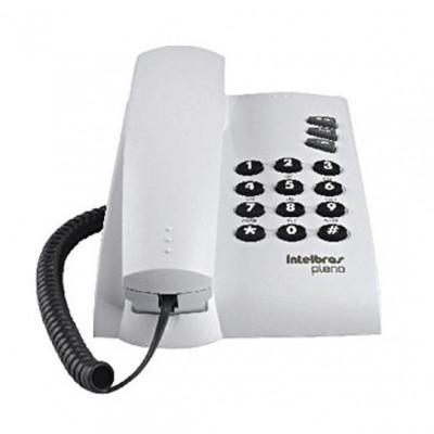 Detalhes do produto Telefone Com Fio Pleno Cinza Ártico - Intelbras