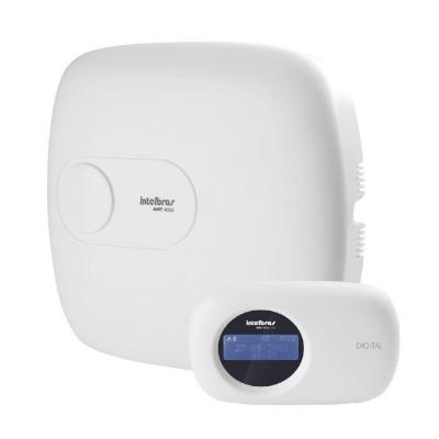 Detalhes do produto AMT 4010 SMART Central de alarme monitorada com até 64 zonas (4+4 painel + 2 por teclado [4 teclados] + 48 mistas [XEZ 4008 SMART, XAR 4000 SMART) - Intelbras