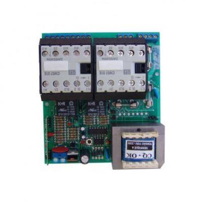 Detalhes do produto Central Eletrônica Contactora CTHN 1024 Para Portões - Rossi