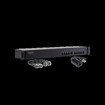 Detalhes do produto Power Balun Full HD 8 Canais VBP A08C - Intelbras