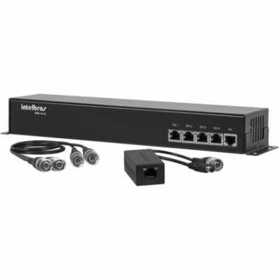 Detalhes do produto Power Balun Intelbras VBP A04C 04 Canais - Intelbras