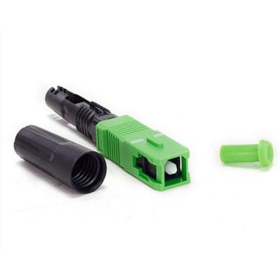 Detalhes do produto Conector óptico SC/APC - 2FLEX